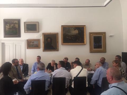 Incontro delegazione Israele
