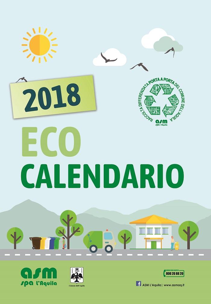 Eco calendario 2018