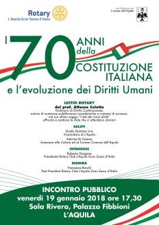70 anni costituzione