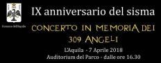 concerto 6 aprile vittime