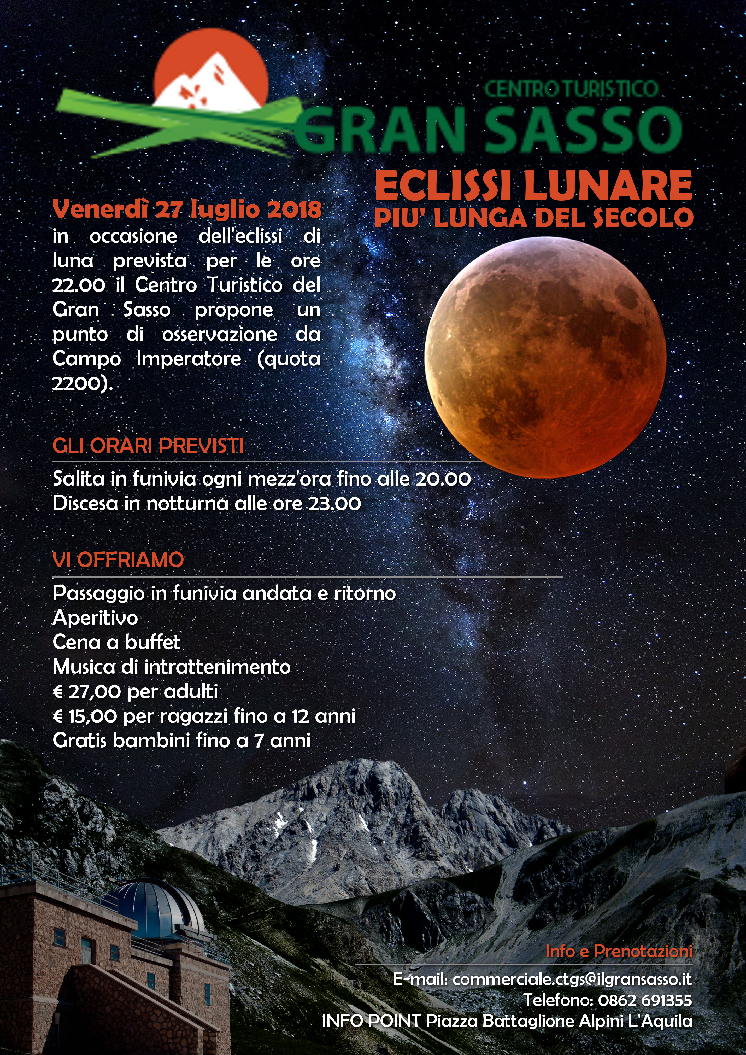 Locandina eclissi