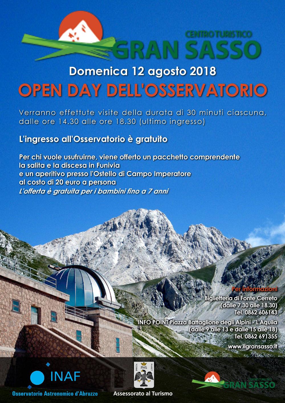 Open Day Osservatorio