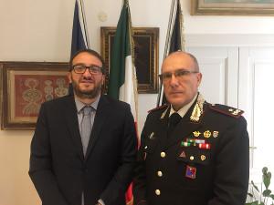 Incontro Biondi Comandante Carabinieri