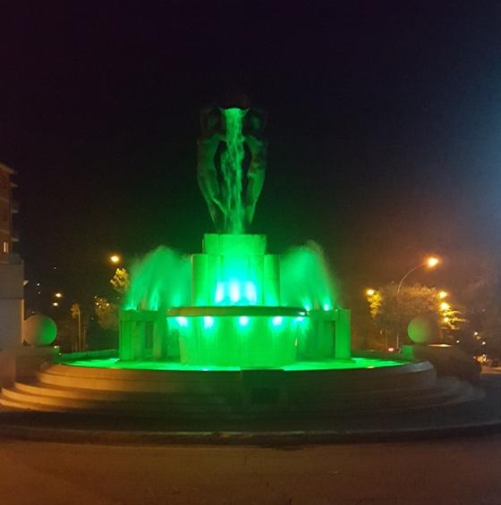 Fontana Luminosa per Sla
