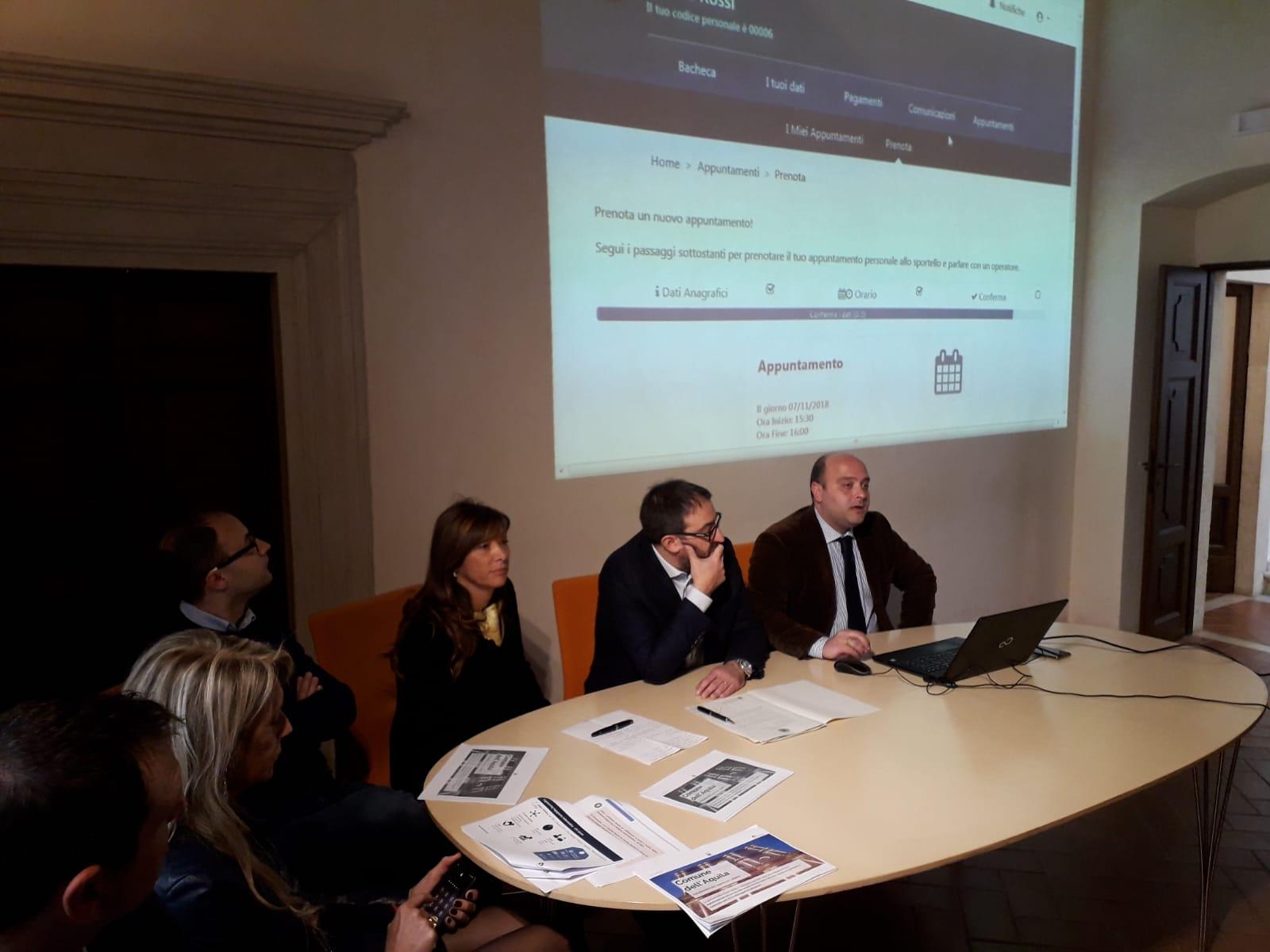 Presentazione progetto digitalizzazione