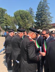 Cerimonia anniversario Carabinieri