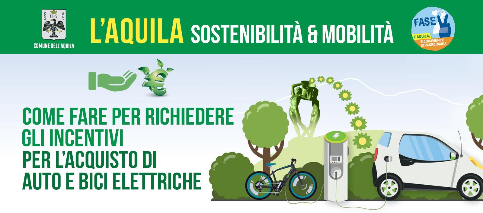 Incentivi acquisto auto e bici elettriche