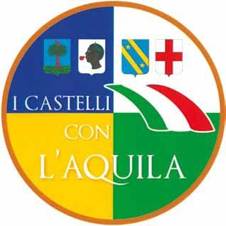 contrassegno I castelli con L'Aquila