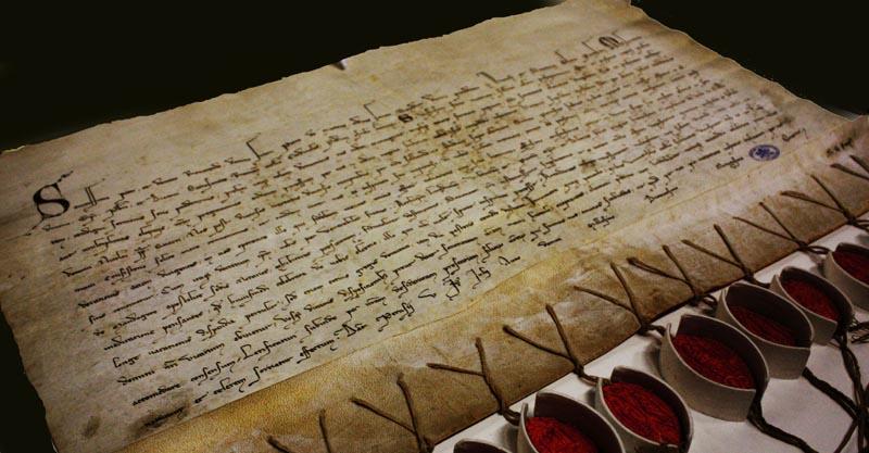 La lettera a Pietro del Morrone per invitarlo ad accettare la nomina a Papa