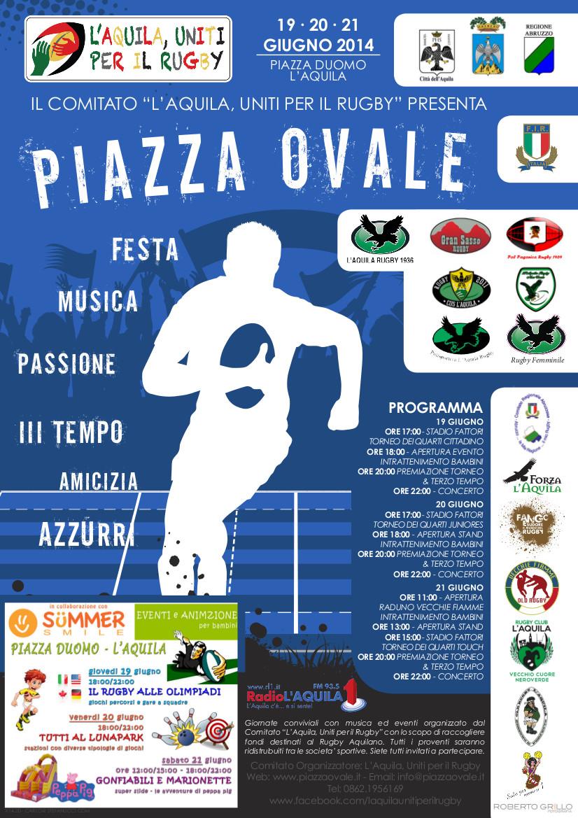 piazza ovale manifesto