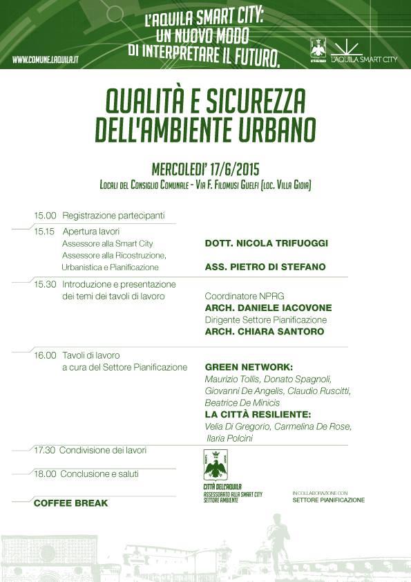 convegno 17 giungo 2015 smart city