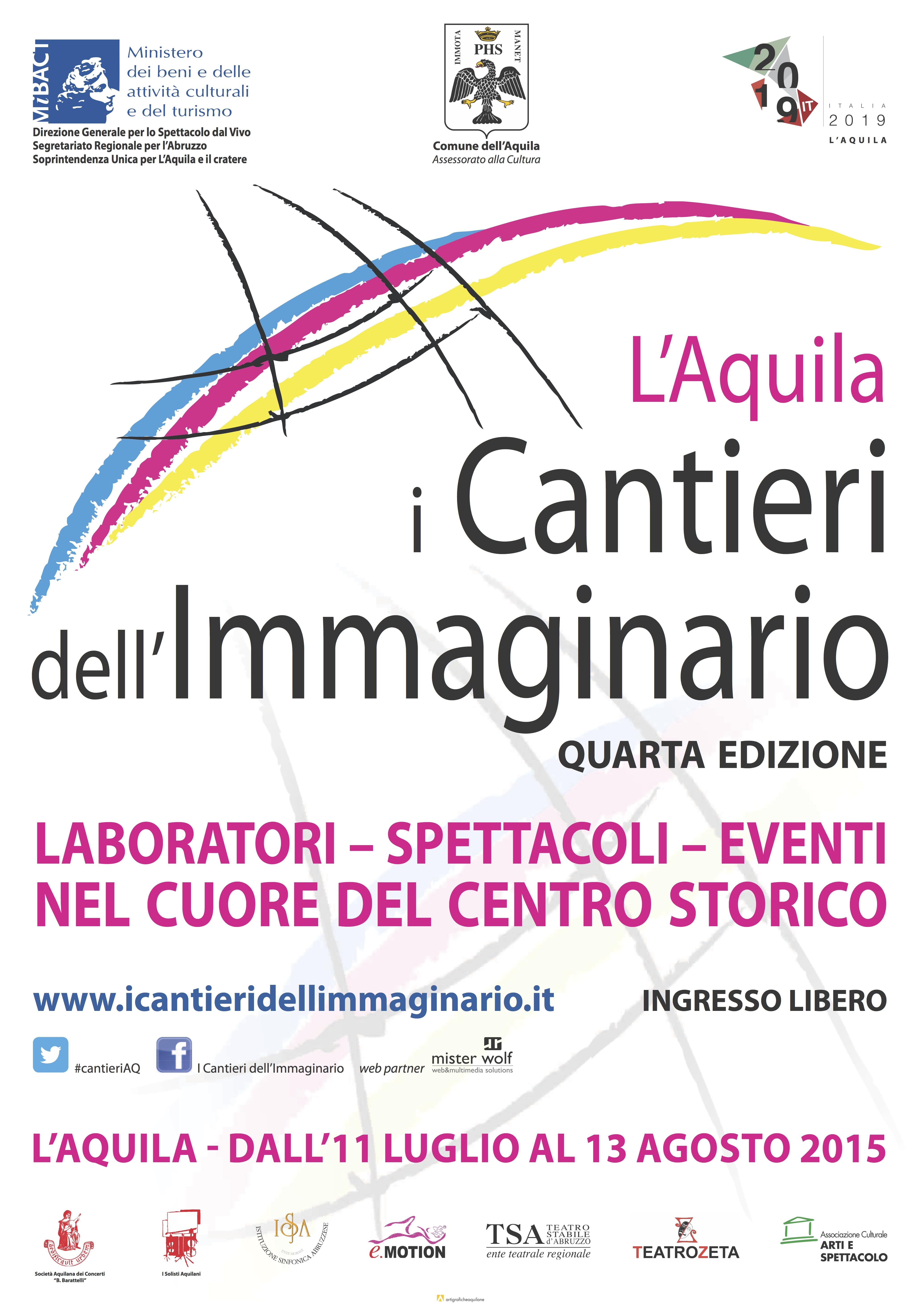 I Cantieri Immaginario 2015