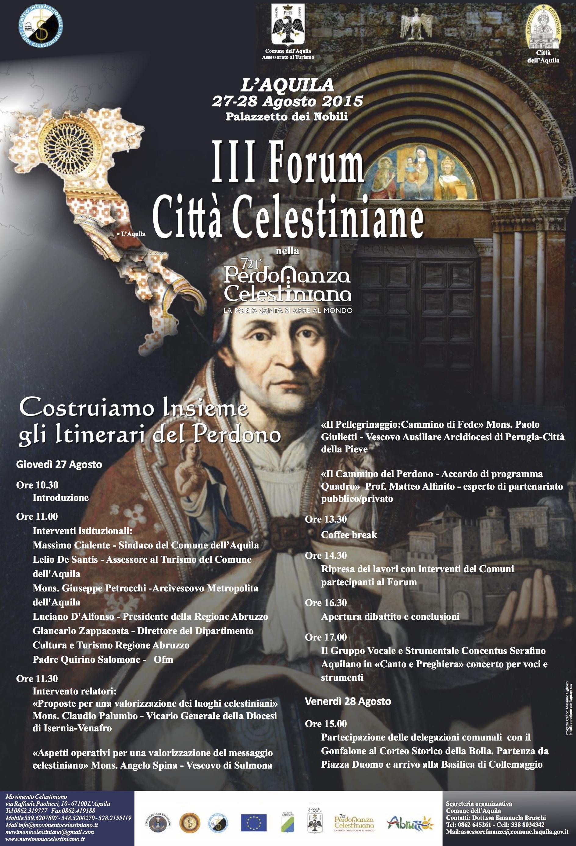 forum città celestiniane